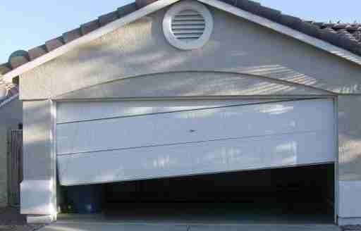 off track garage door repair
